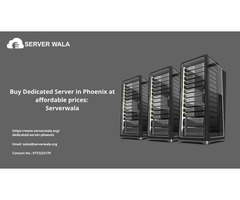 Buy Dedicated Server in Phoenix at affordable prices: Serverwala