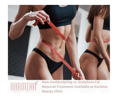 Sculpsure and Coolsculpting - Fat Remover Treatment Available