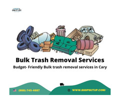 Budget Friendly Bulk trash removal services in Cary