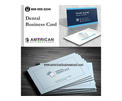 Buy Dental Business Card Online At Reasonable Prices