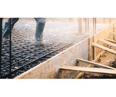 Concrete patio installation   Aqua Blu Services