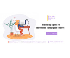 Hire the Top Experts for Professional Transcription Services