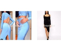 Long Sleeve Bandage Dresses