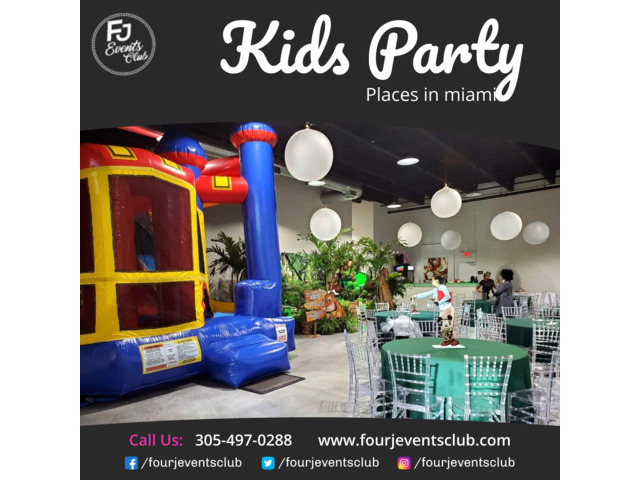 Kids Party Places in Miami | free-classifieds-usa.com