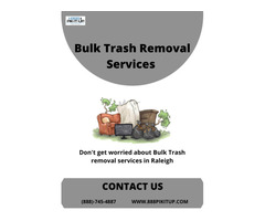 Best bulk trash removal services in Raleigh, NC