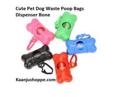 Cute Pet Dog Waste Poop Bags Dispenser Bone - Kaanjushoppe.com