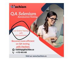 QA Online Live Training -  Hachion