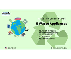 Schedule your E-waste recycling services