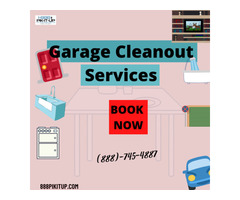 Garage cleanout services in Raleigh