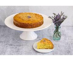 Best Lavender Vanilla Olive Oil Cake- Order Online