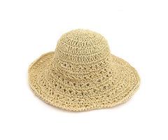 Women Outdoor Folding Hollow Out Bucket Hat