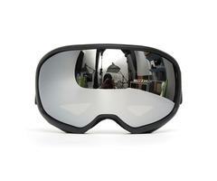 Snowmobile Skiing Goggles Double Lens Anti Fog UV Snowboard Snow Sport Black