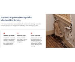 Looking for WATER DAMAGE RESTORATION? - 2the rescue restoration service