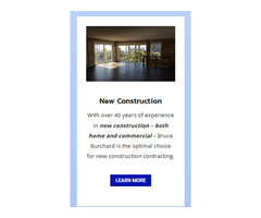 Custom Home & Commercial Construction - No Limit Contracting & design