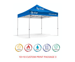 Buy 10x10 Custom Canopy At Extreme Canopy