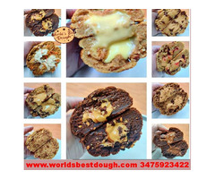 Buy Cookie Dough Online in New York Even Stuffed Cookies Delivery