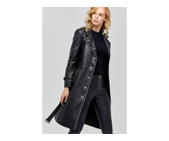 Genuine Cowskin Leather Jacket for Men's & Womens