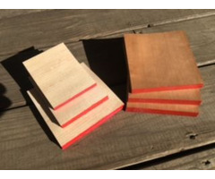 All wood sheet note pads