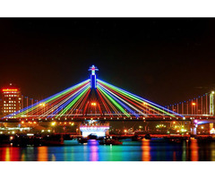 Danang tour with landscapes experience on cruise along Han River