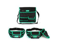 Multi-Pockets Garden Drill Work Tool Storage Bag Shoulder Belt Waist Organizer
