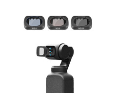 Telesin OS-FLT-ND1 ND4 ND8 ND16 Lens Filter for DJI OSMO Gimbal Action Sports Camera | free-classifieds-usa.com