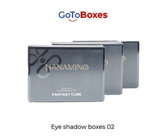 Give your product identity with custom Eye shadow boxes