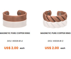 Buy Magnetic Pure Copper Rings & Bands Online