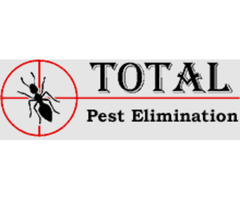 Pest infestations should be eliminated as soon as possible