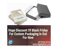 20% Discount Of Black Friday For Custom Packaging Is Out For Now