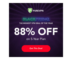 PureVPN Subscriptions 5-Years ($1.32, 88% Off)