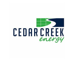 What is the solar production/consumption monitor? Cedar Creek Energy
