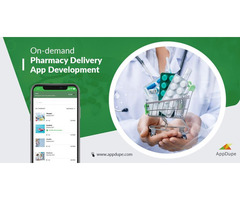 Scale your medical store business by developing an on-demand pharmacy delivery app