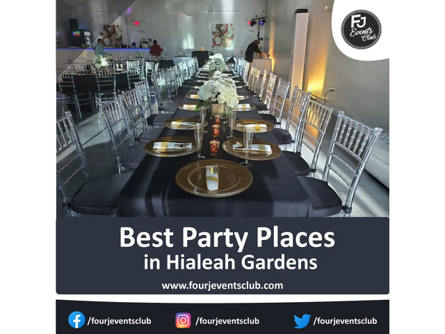 Best Party Places in Hialeah Gardens | free-classifieds-usa.com