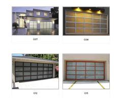 Buy Glass Garage Door in California