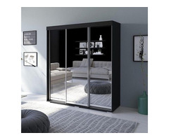 "Buy Elegant Vania 3 Door Modern 71"" Wardrobe"