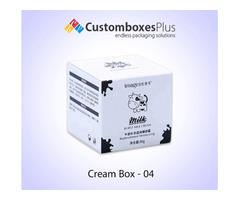 Get Cream Jars Cosmetic Packaging Wholesale at CustomBoxesPlus | free-classifieds-usa.com