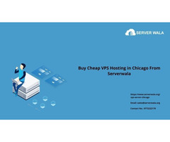 Buy Cheap VPS Hosting in Chicago From Serverwala