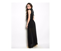 Chau Maxi Dress | Buy Black Maxi Dresses Online