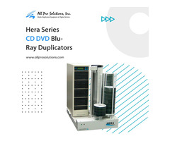 Hera Series CD DVD Blu-Ray Duplicators