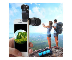 PUROO 8x21 Monocular Telescope Lens for iPhone Samsung HTC Smartphone Camera