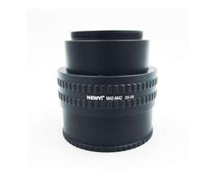 NEWYI M42-M42 Mount Lens 25-55MM Adjustable Focusing Helicoid Macro Tube Adapter Tube Ring
