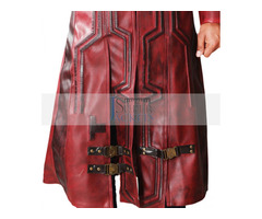 Guardians Of Galaxy Vol 2 Star Lord Leather Coat