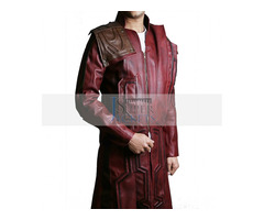 Guardians Of Galaxy Star Lord Vol 2 Leather Coat
