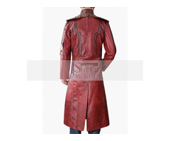 Guardians Of Galaxy Star Lord Vol 2 Leather Coat | free-classifieds-usa.com