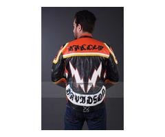 Harley Davidson Man Mickey Rourke Motorcycle Biker Leather Jacket