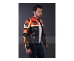 Harley Davidson & The Marlboro Mickey Rourke Biker Leather Jacket