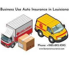 Business Use Auto Insurance in Louisiana