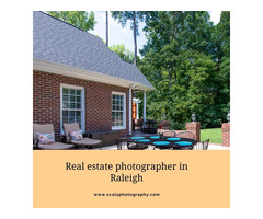 Why choose a veteran Real estate photographer in Raleigh?