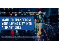 Leverage smart city solutions to improve city management