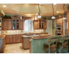 Enhance Your Kitchen Décor With Custom Cabinets